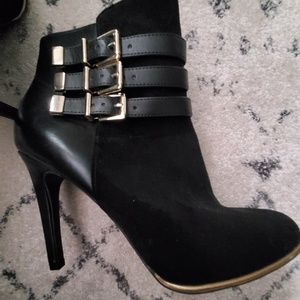 Sam & Libby Womens Ankle Boots
